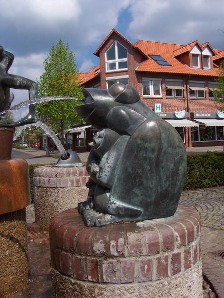Bronzebrunnen, Robert Enders , Sulingen