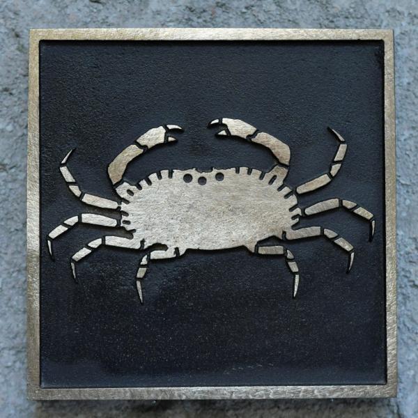 Bronze Krebsstein Varel Fußgängerzone