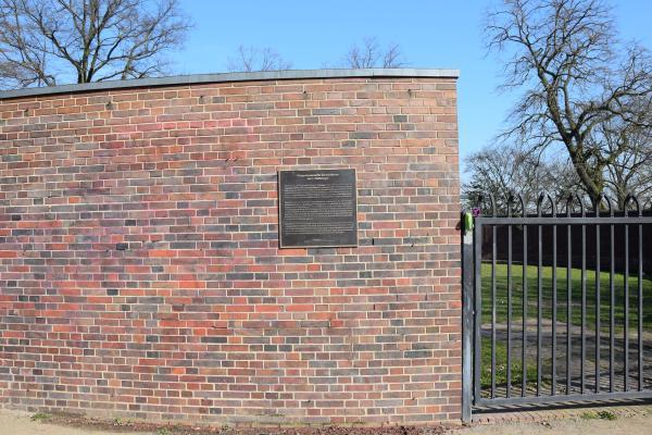 Kriegerehrenmal  zu Ehren der Gefallenden des Ersten Weltkriegs, Bremen Altmannshöhe
